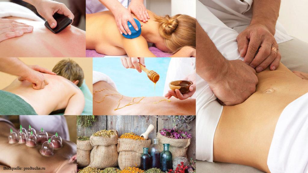 Manuelle Therapie / Viszerale Therapie / Viszerale Osteopathie / Viszerale Bauchmassage, der inneren Organe, nach Ogulov / Oгулов / russische Heilmethoden